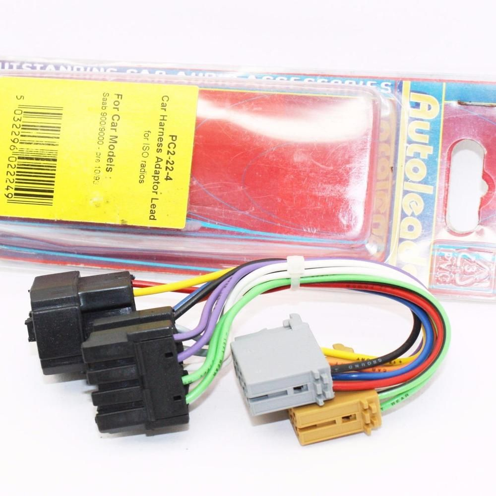 hight resolution of autoleads pc2 22 4 saab 900 or 9000 iso wiring harness adaptor leads pc2224 autoleads