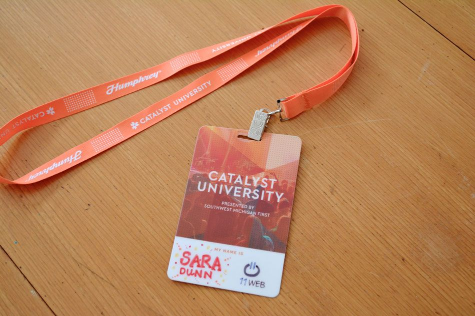 Pin by Ferro Sandityo on ID Card | Conference badges ...