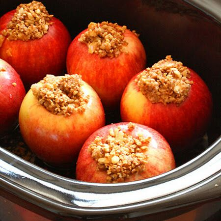 Crock Pot Baked Apples Recipe | Key Ingredient