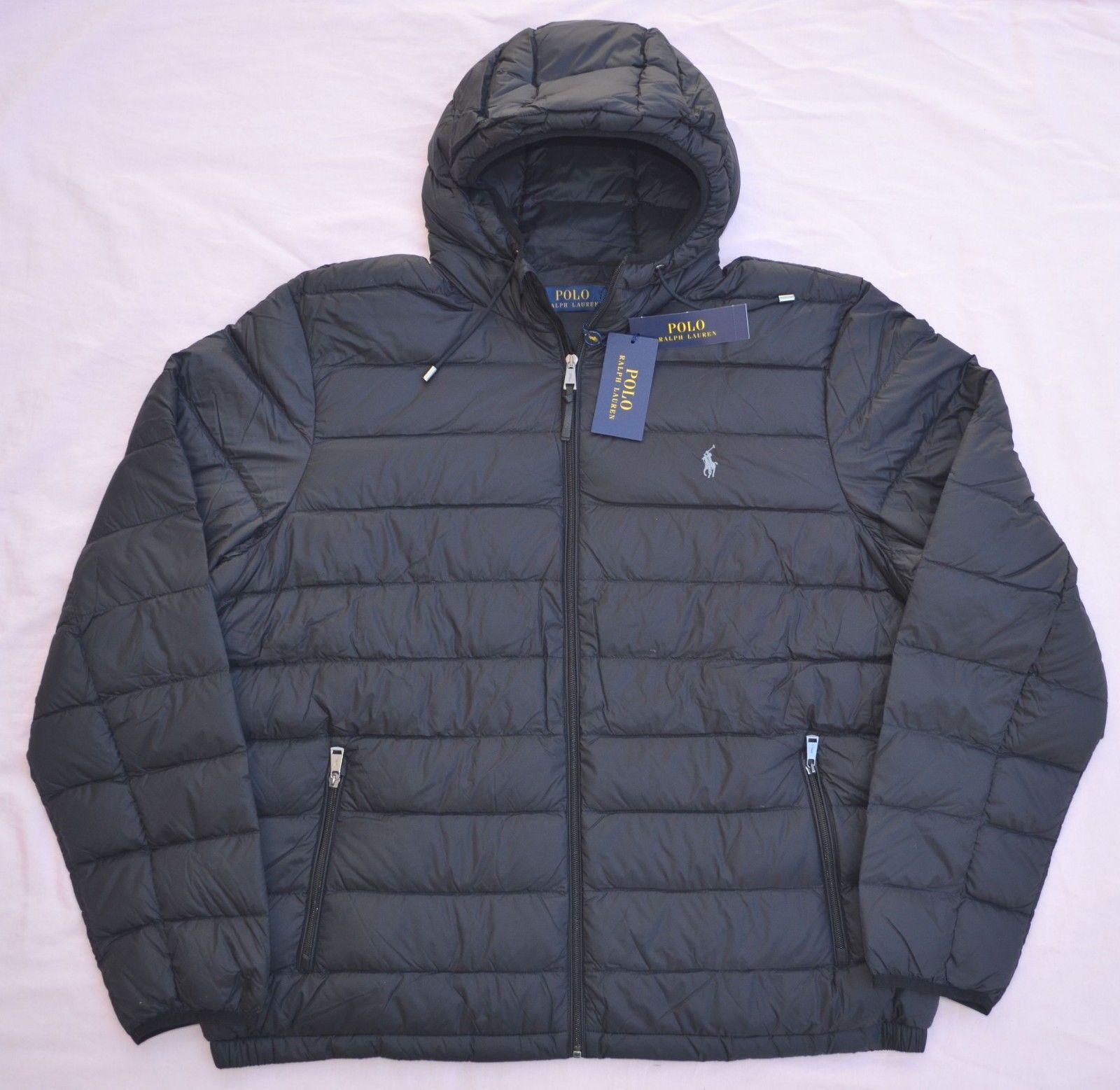 New 3xlt 3xl Tall Polo Ralph Lauren Mens Packable Down Jacket Puffer 3xt Black Mens Outfits Black Winter Coat Polo Ralph Lauren Mens [ 1557 x 1600 Pixel ]