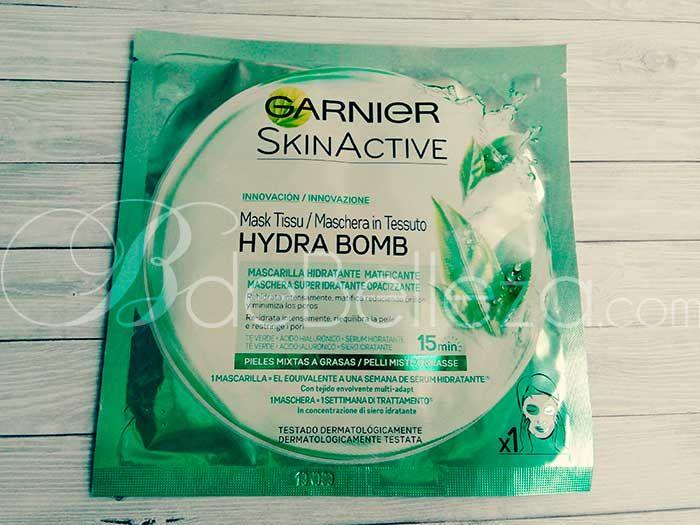Hydra Bomb De Garnier Análisis De Las 6 Mascarillas Quitar Manchas Peluquería Y Belleza Mascarilla Hidratante