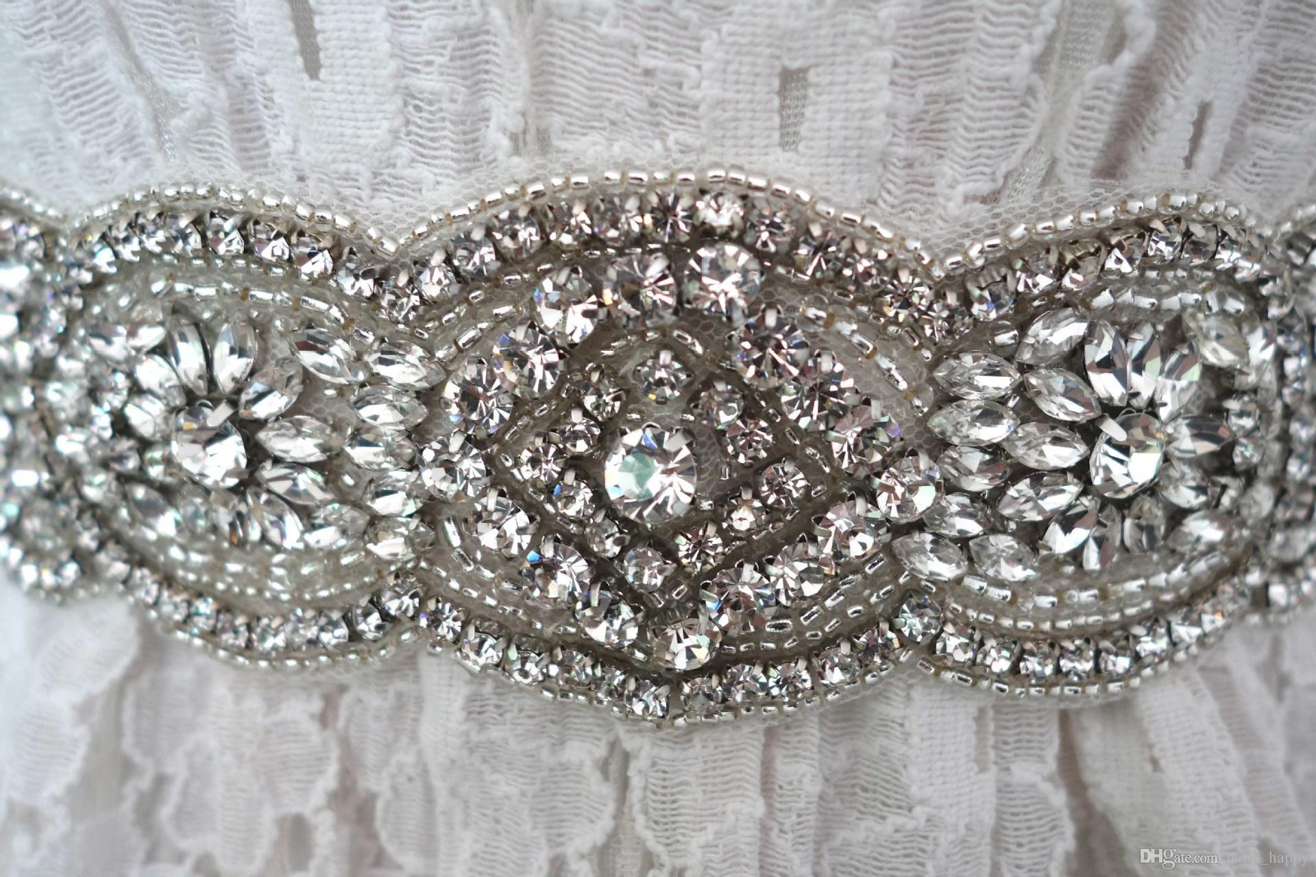 Bridal sashes belts wholesaler dresstop sells new