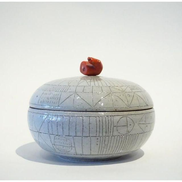 Image of Scribed Lidded Box by Heather Rosenman