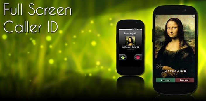 Full Screen Caller ID PRO v9 2 4 for Android shows a full