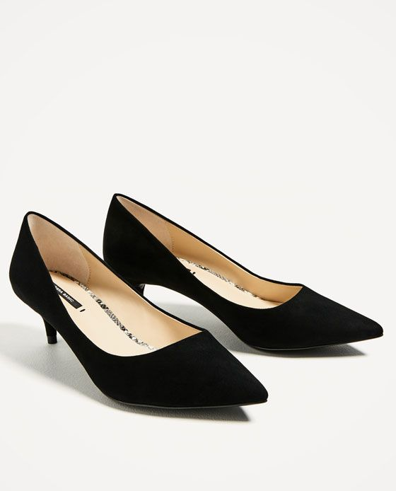 5f1397176800e Image 3 of KITTEN HEEL SHOES from Zara | bag and footwear in 2019 ...
