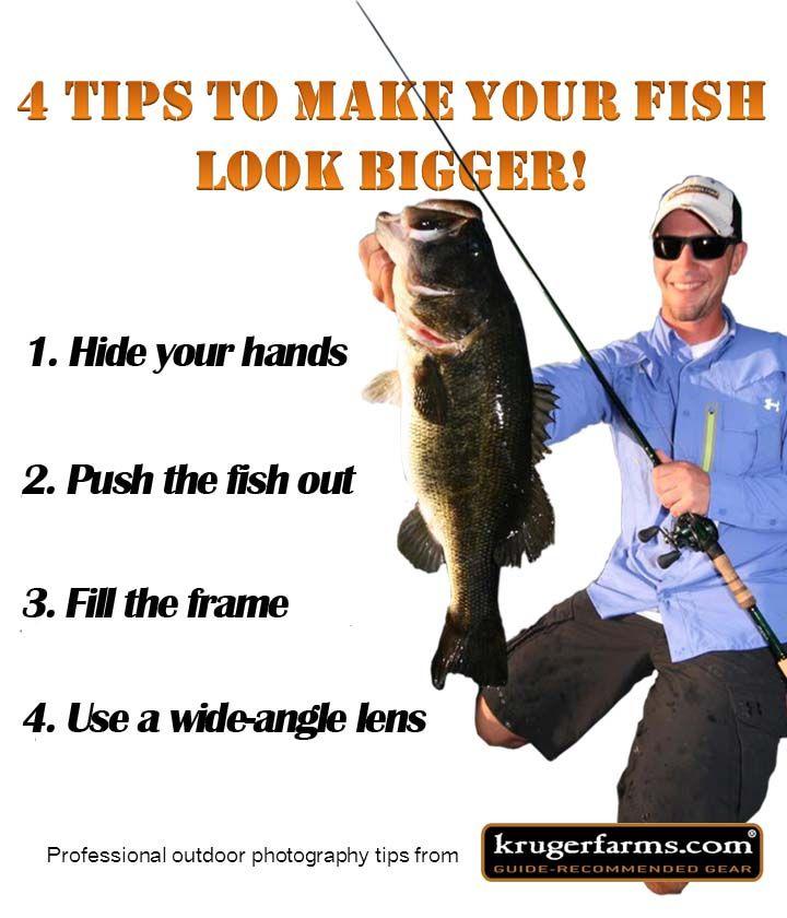 4 Quick Tips To Make Your Fish Look Bigger Krugerfarms Com On Wordpress Com Fish Rapala Vacation Photos