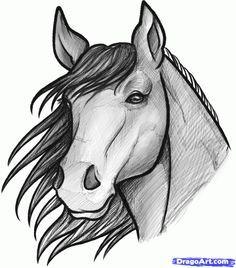 Horses Face Drawings Google Search Horses Horse Drawings