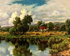 Vintage landscape prints from the 1910s-1940s
