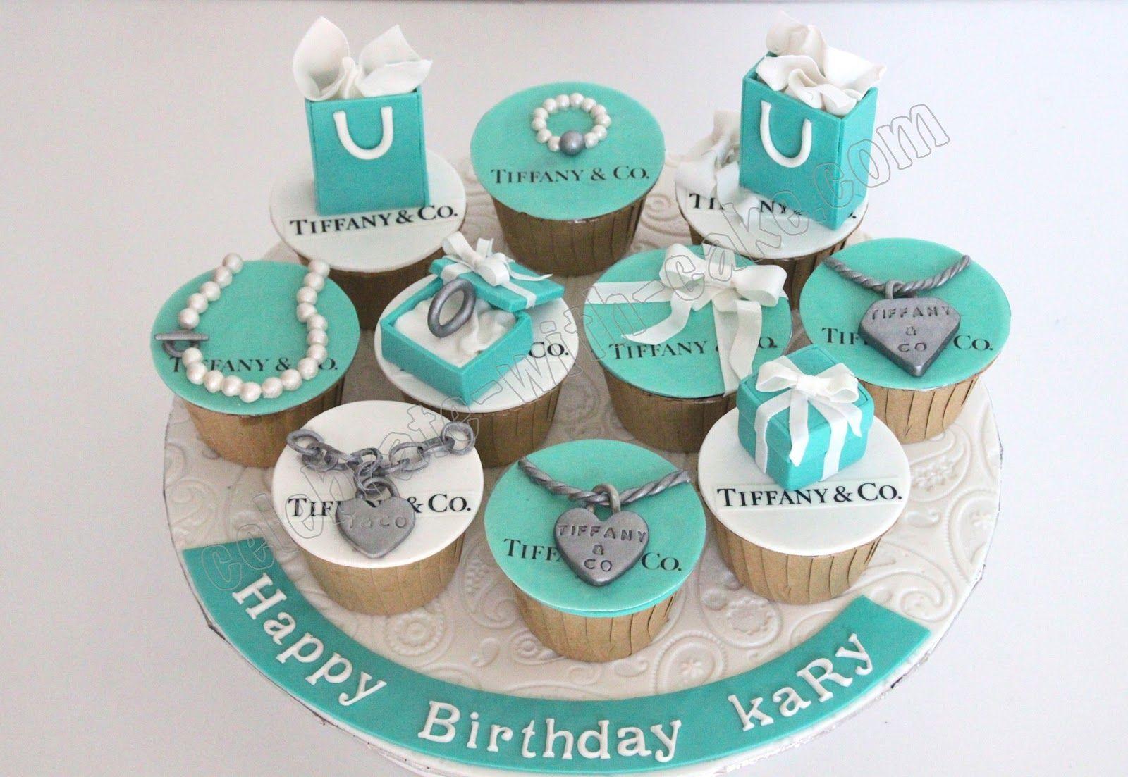 cb1b48b2a9a Tiffany cupcakes | Girl Birthday Cupcakes | Tiffany cupcakes ...