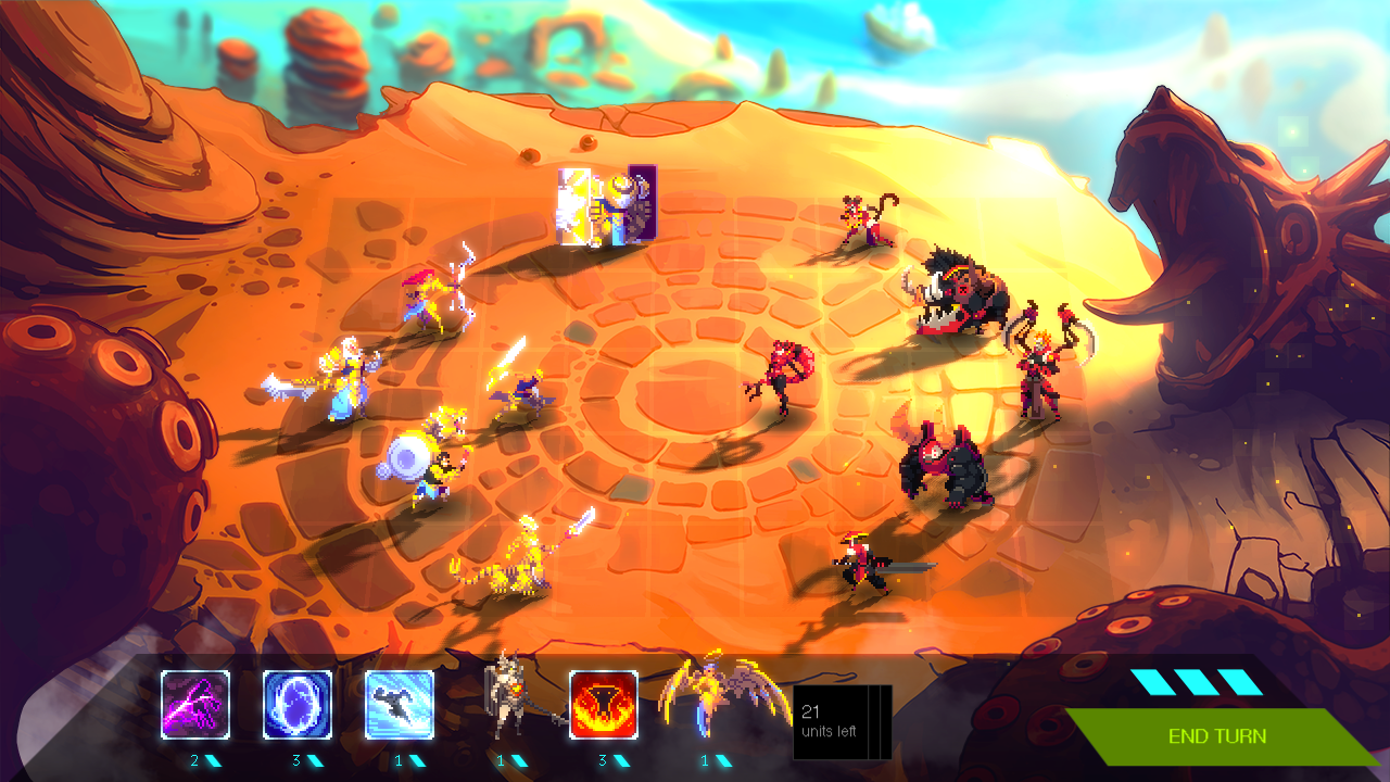 DUELYST competitive multiplayer tactical turnbased