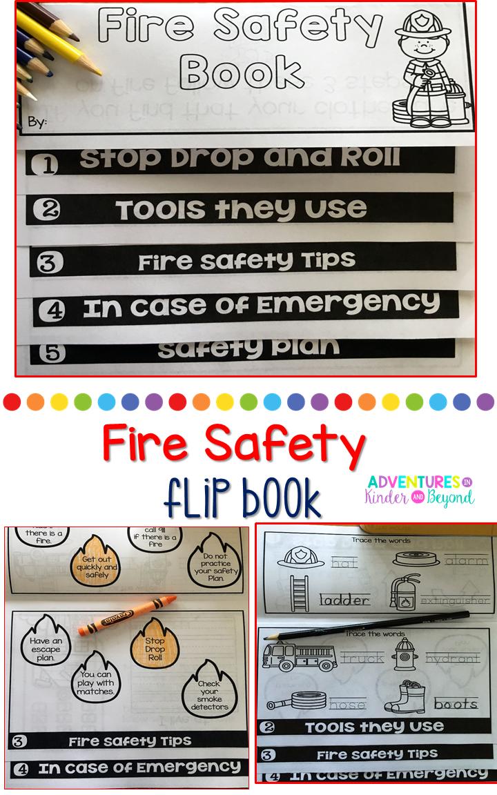 Fire Safety Flip Book Flip book, Fire safety, Fire