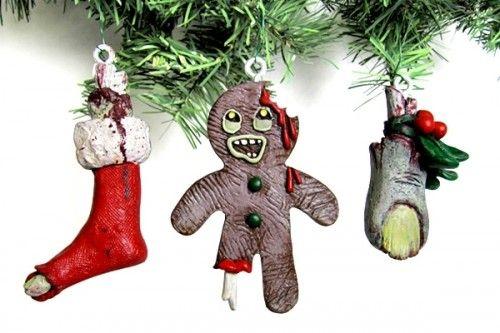 zombie christmas pics   Zombie Christmas Ornaments - $9.95 (sold  individually) - Zombie Christmas Ornaments Crafty Ideas Pinterest Christmas