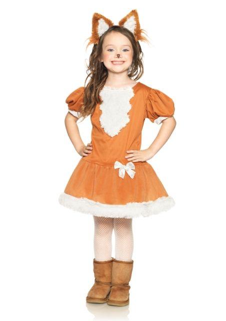 Feisty Fox Girls Kids Costume Faiths favorites Pinterest Foxes - womens halloween ideas