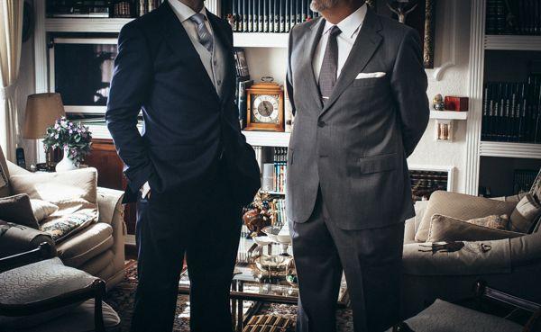 El novio y el padre del novio {Foto, AY vídeo} #novio #groom #tendenciasdebodas