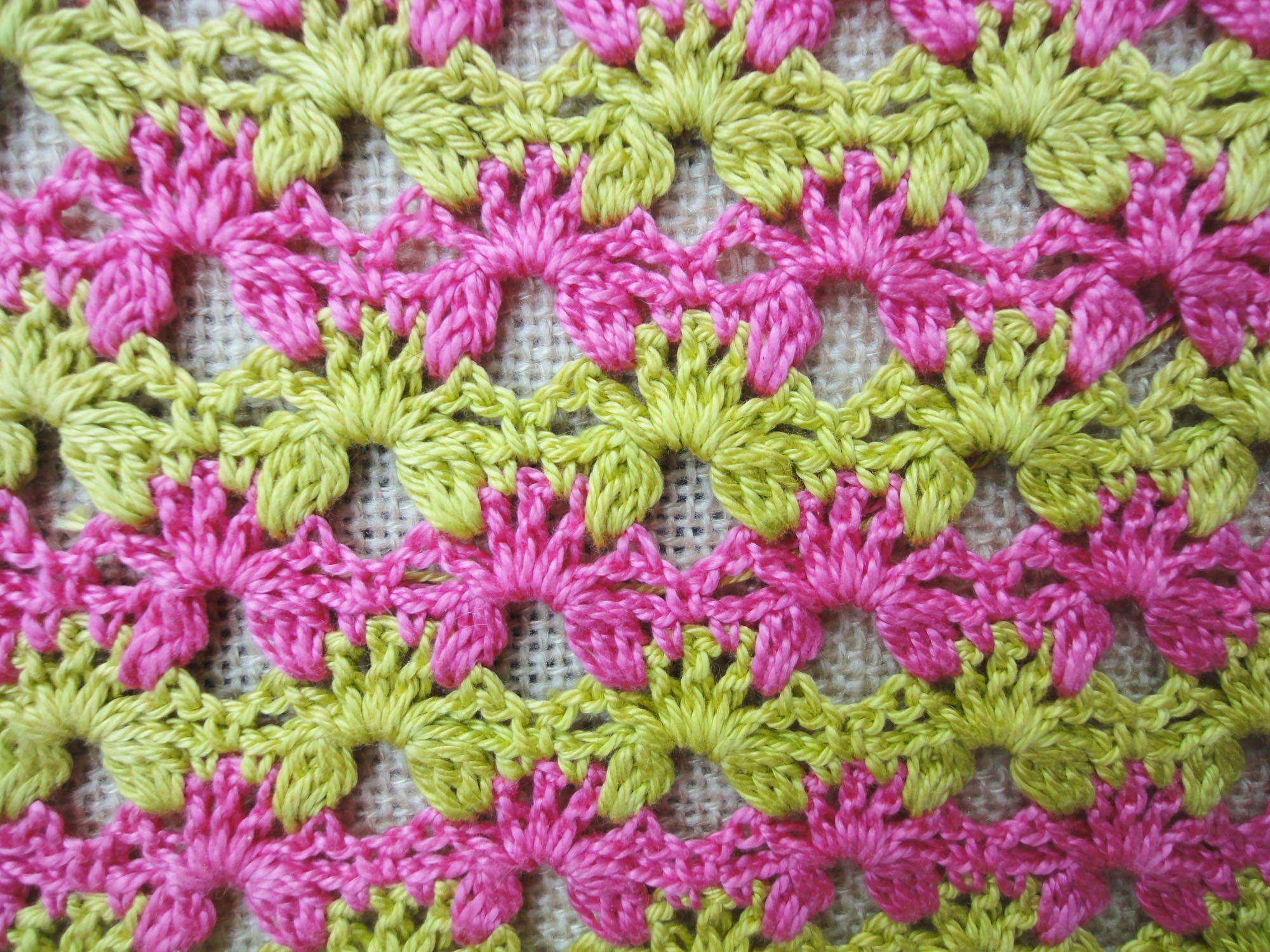 Двухсторонний узор Вilaterial pattern Crochet | Crochet | Pinterest ...