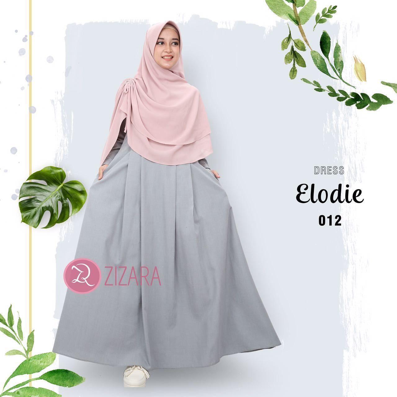 Gamis Zizara Elodie Dress 012 Baju Muslimah Busana Muslim Kini Rok Jeans 7 8 Drakblue Jsk5012 Allsize Hadir Untukmu Yang Cantik Syari