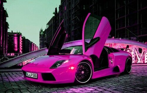 girly cars pink cars every women will love pink lambo
