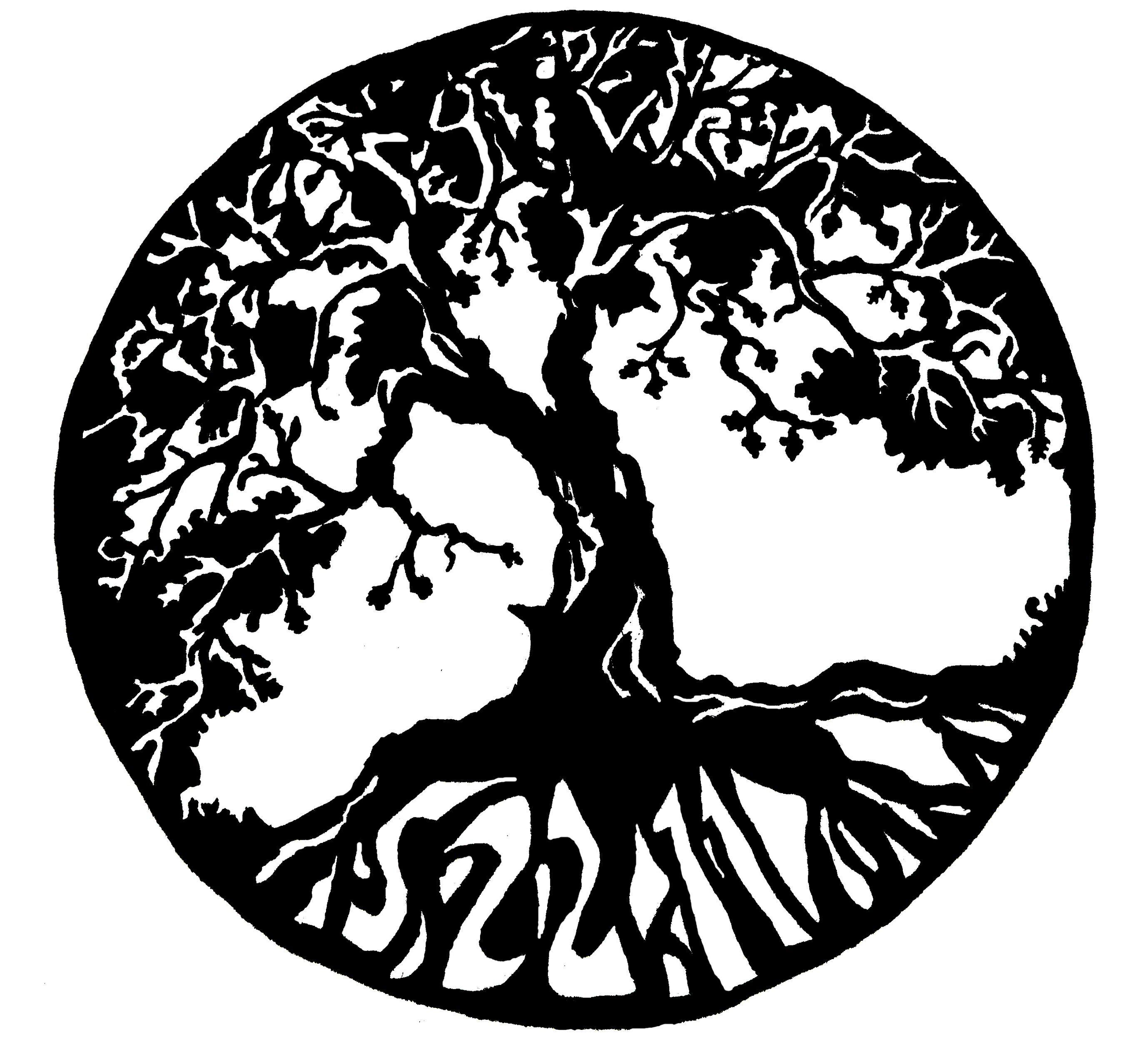 tree tattoo designs madscar tattoos. Black Bedroom Furniture Sets. Home Design Ideas