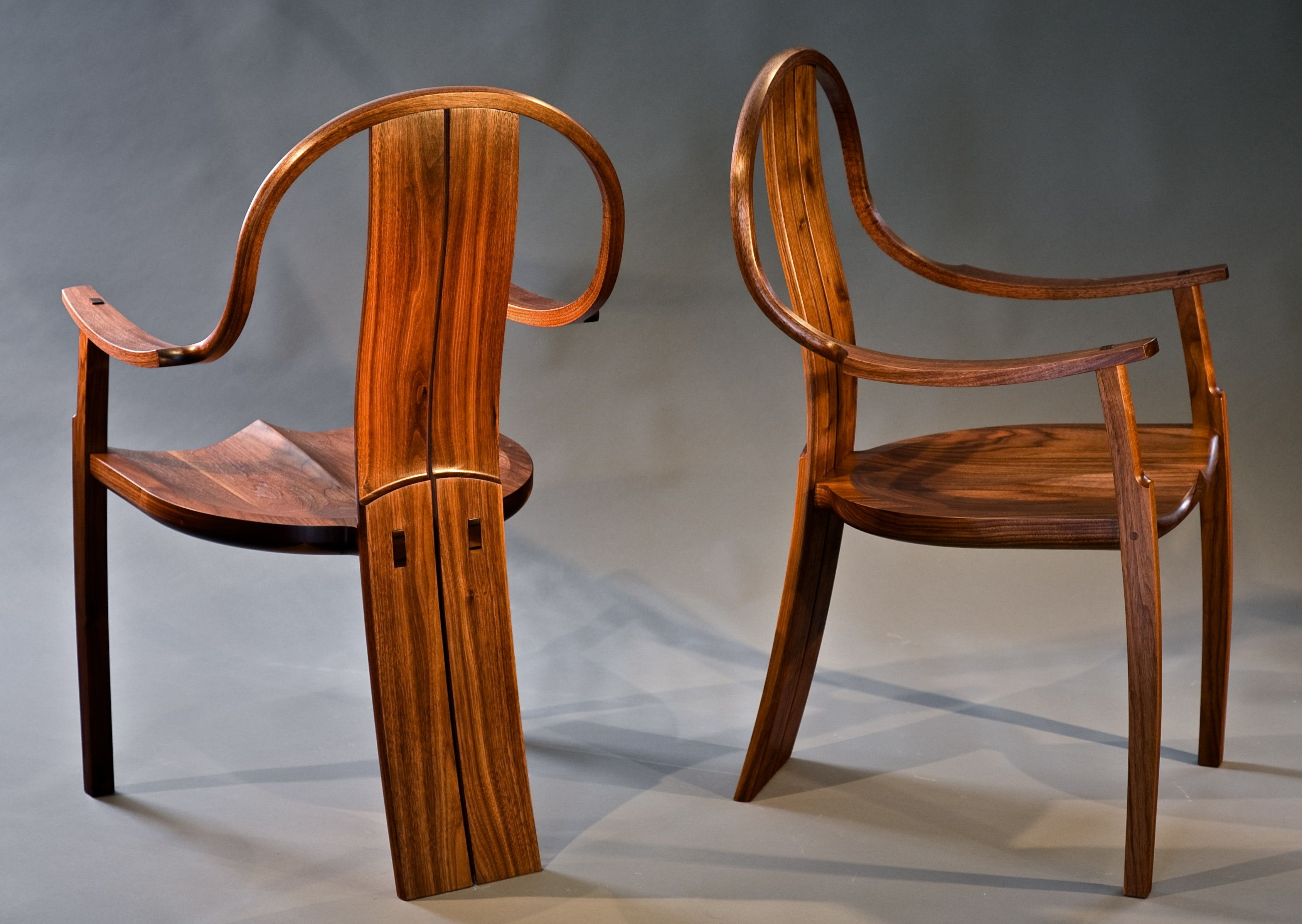 Wonderfull Dark Brown Wood Modern Rustic Design Most Comfortable ArmChair  Wood Front Rear Leg Teak Wood