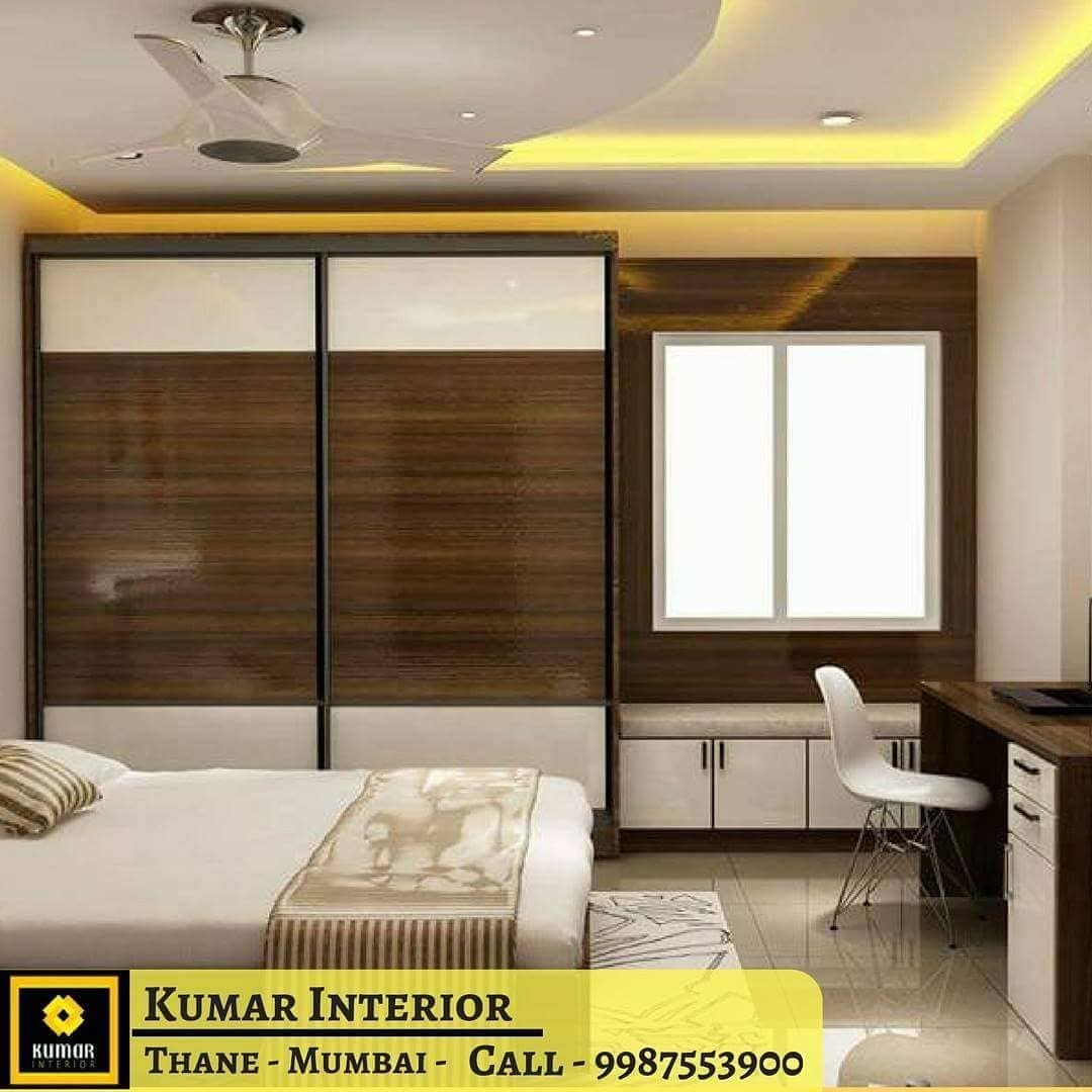 Living Room Tv Unit Design By Kumar Interior Our Ongoing Project