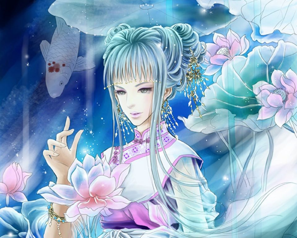 55 best Fantasy art: Yuehui Tang images on Pinterest   Digital art ...