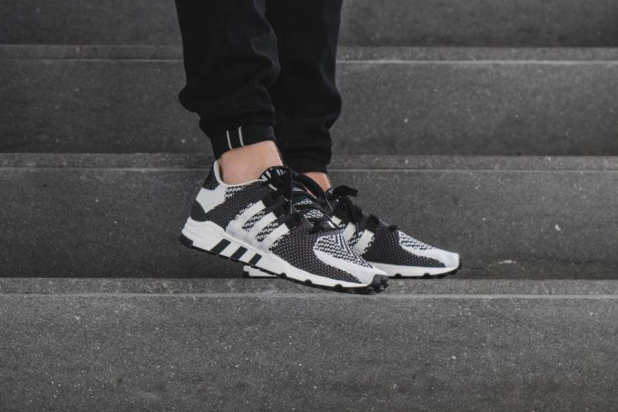 low priced 7d83b adeb6 Now Available  adidas EQT Support RF Primeknit Zebra • KicksOnFire.com