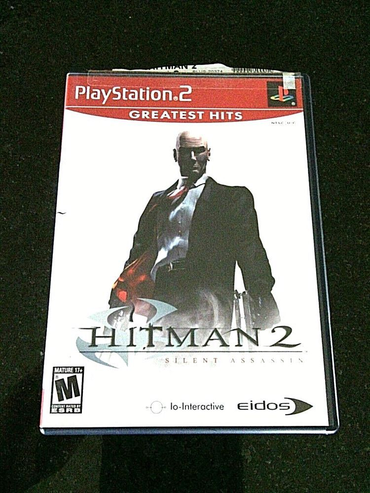Ps2 Games Hitman 2 Silent Assassin Greatest Hits Sony Playstation