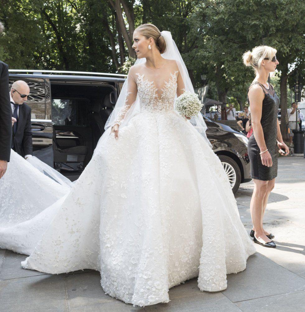 Swarovski Heiress Gets Wed In 46kg Of Glittering Crystals Most