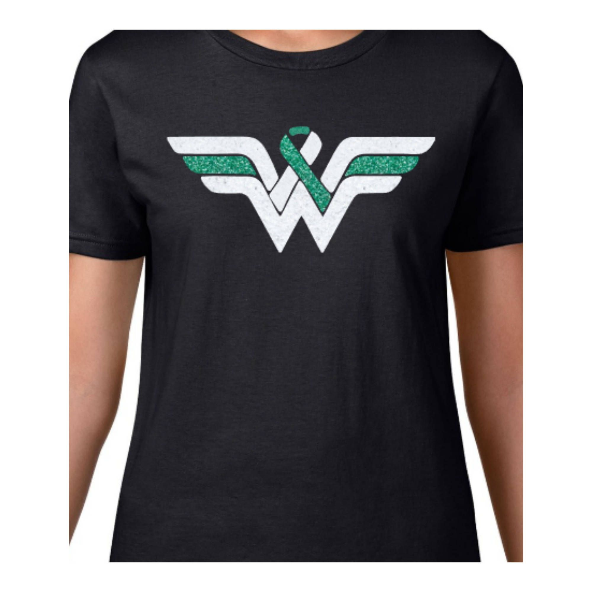 8afb204b Cervical Cancer Awareness Wonder Woman Inspired Shirt by CreativeMadness78  on Etsy