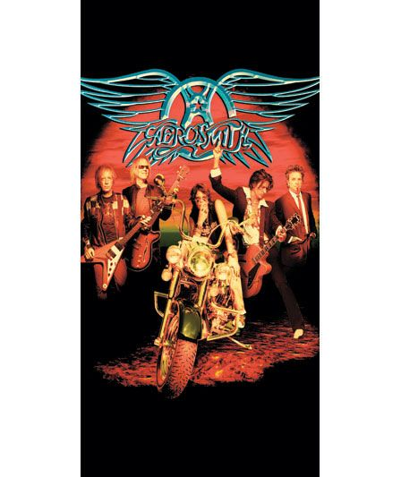 Rock Band Beach Towels With Images Beach Towel Aerosmith