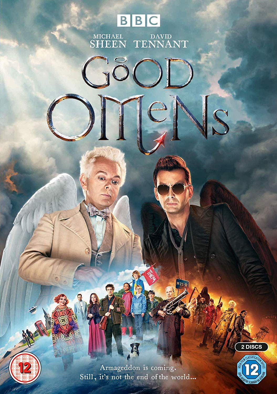 Good Omens Dvd 2019 Amazon Co Uk Michael Sheen David