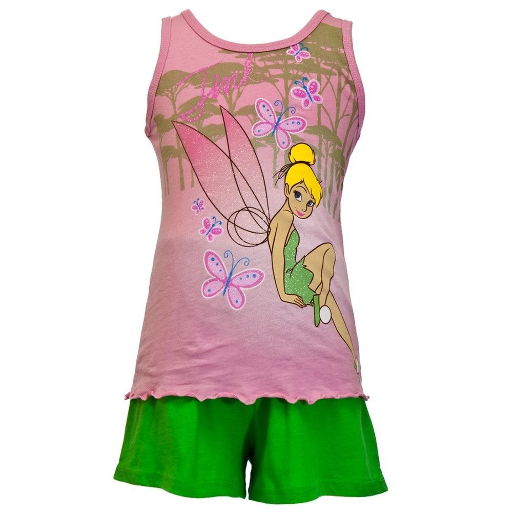 Tinkerbell - Forest Girls Juvy Tank and Shorts Set