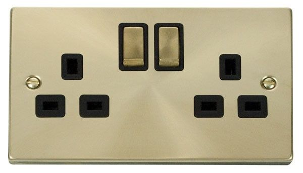 Click Deco 13a 2g Dp Ingot Switched Uk Socket Outlet Vpsb536bk Sockets Deco Accessories Usb Outlet
