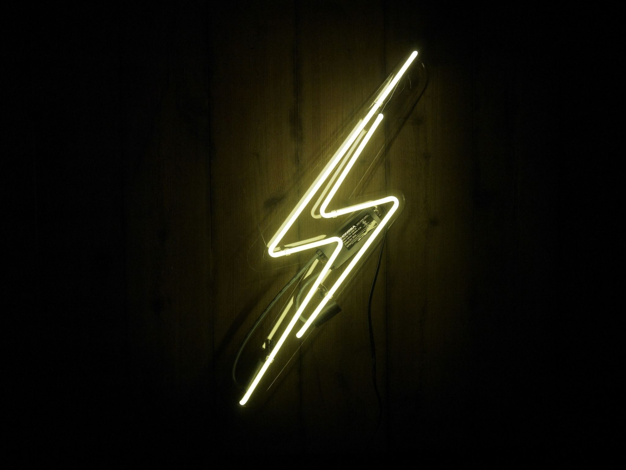Lightning Bolt Neon Sign Neon Signs Neon Light Signs Neon Lighting