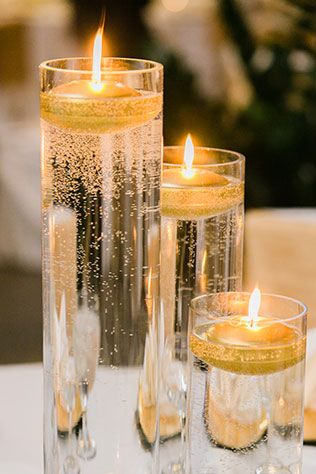 Black and white winter wedding in chicago pinterest for Black table centrepieces