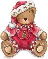 Dibujo A Color De Montanas Tiernas Para Imprimir Buscar Con Google Christmas Teddy Bear Christmas Bear Teddy Bear Pictures