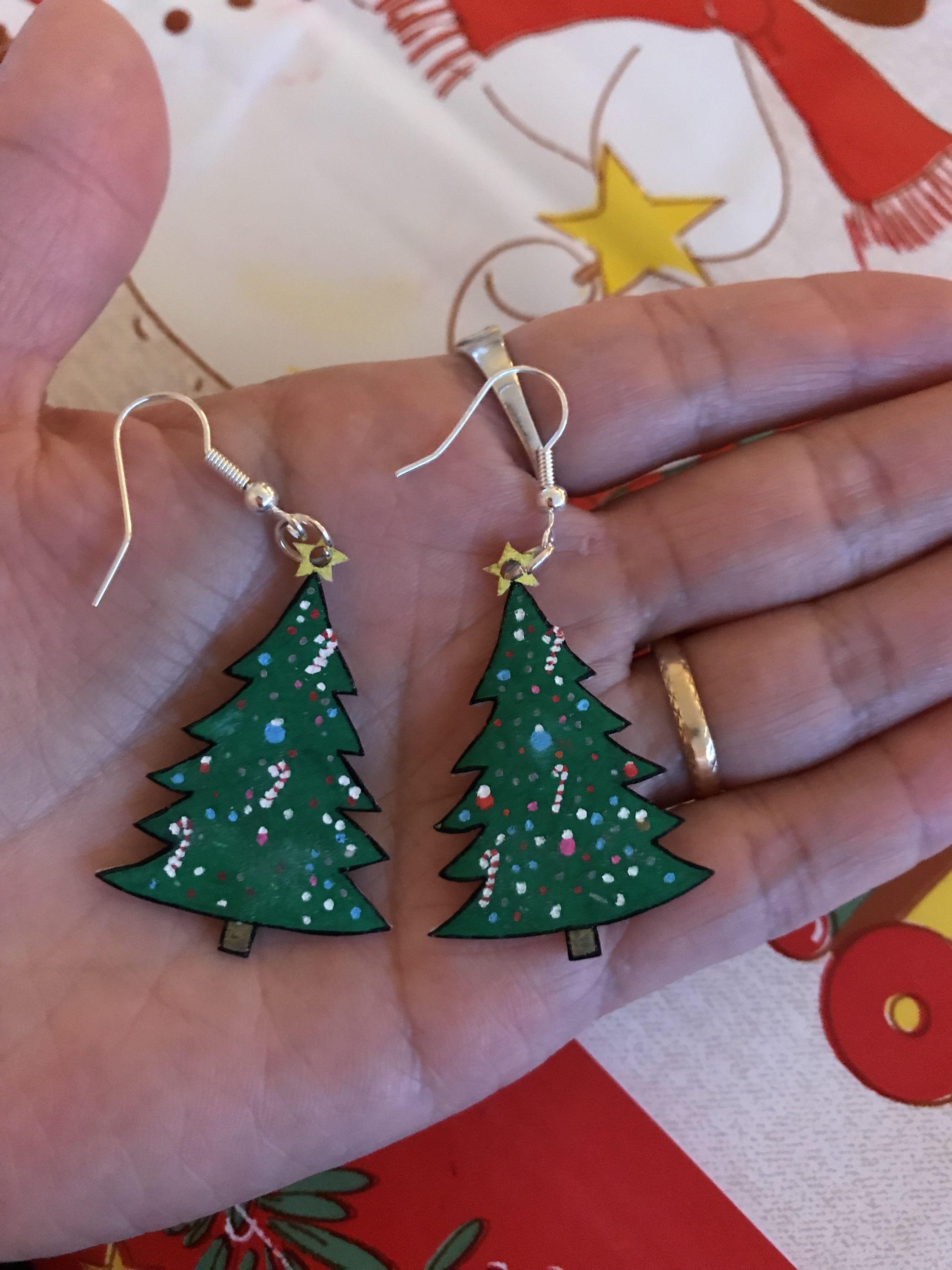 Ørering med krympeplastik juletræ torrallannikuusakka najap