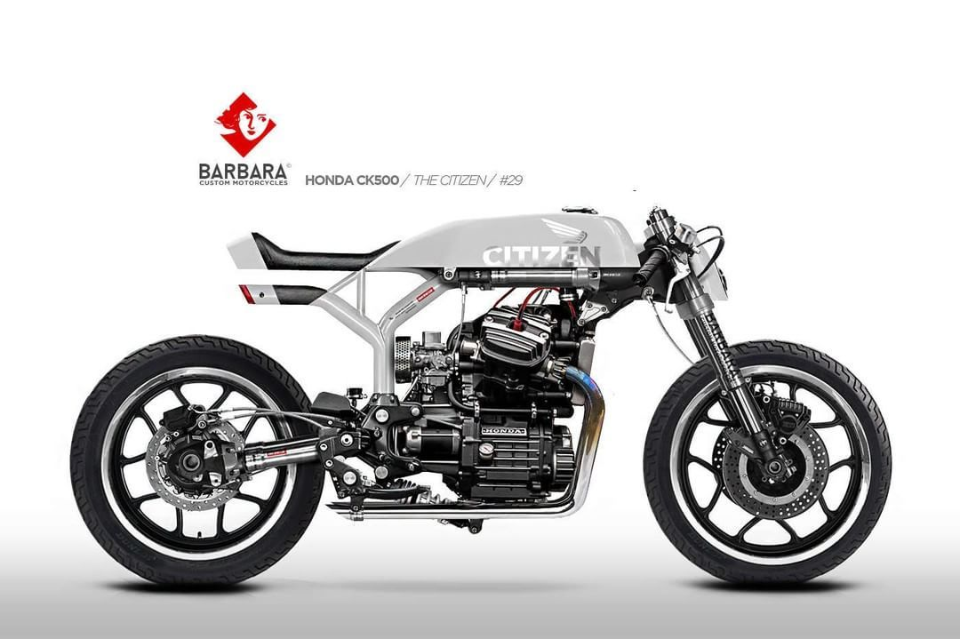 Honda CX500 Cafe Racer Design The Citizen No29 By Barbara Custom Motorcycles