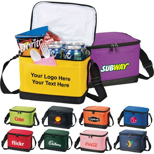 Customized Lunch 6 Pack Cooler Bags