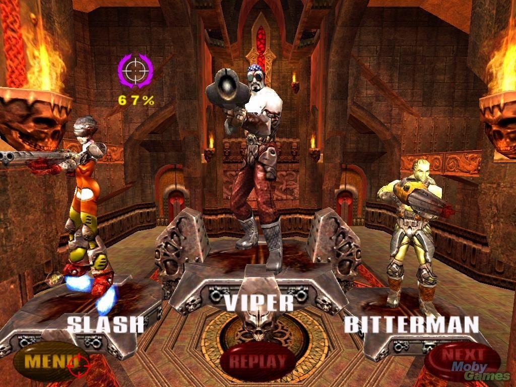 скачать игру Quake Arena 3 - фото 9