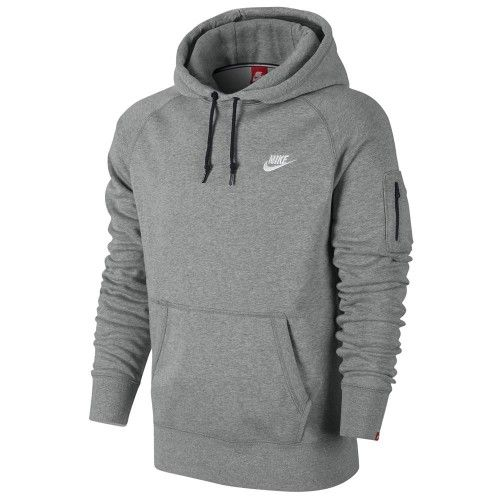 615ad35b8808e Fleece Pullover - Nike AW77 Fleece Herren Hoodie Sweatshirt Hoody in ...