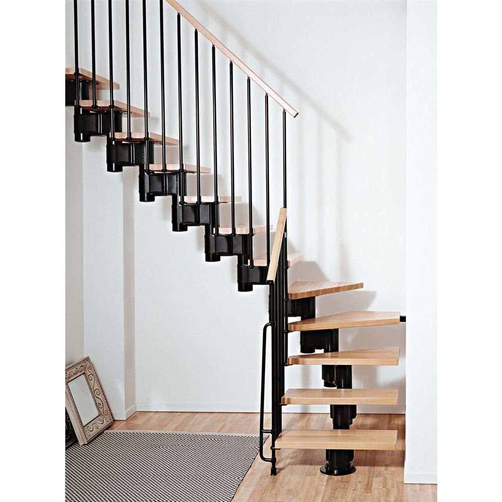 Best Arke Kompact 35 In Black Modular Staircase L Kit 400 x 300