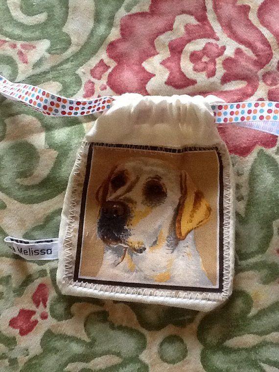 Dog doggy treat bag - Labrador  on Etsy, £3.75