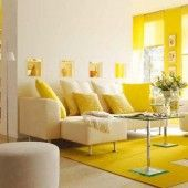 Decorating Ideas for Living Rooms With Yellow Walls