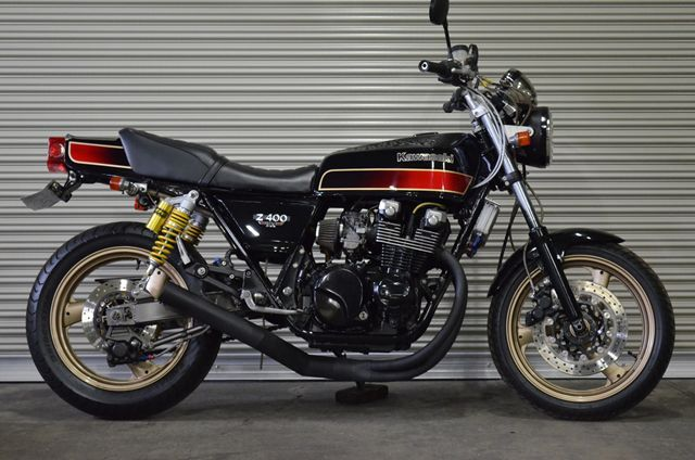 Z400fx 極上車 旧車絶版車専門店cjperformance バイク 400cc カワサキモーターサイクル 旧車