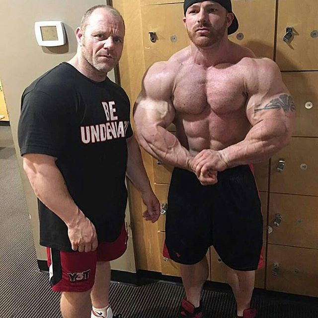 Neil and Flex Lewis