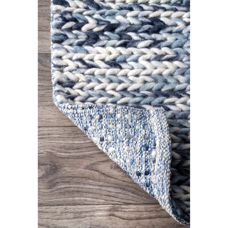 Pin By Lauren Toth On For The Home In 2020 Braided Area Rugs Area Rugs Navy Area Rug