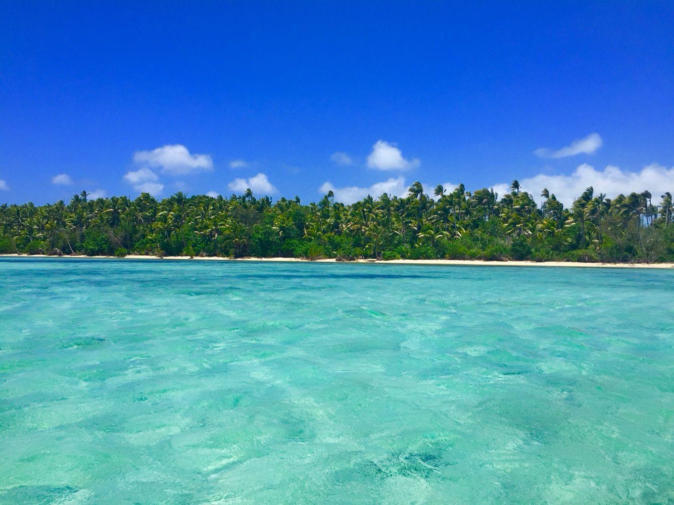 Fiji Islands blue lagoon