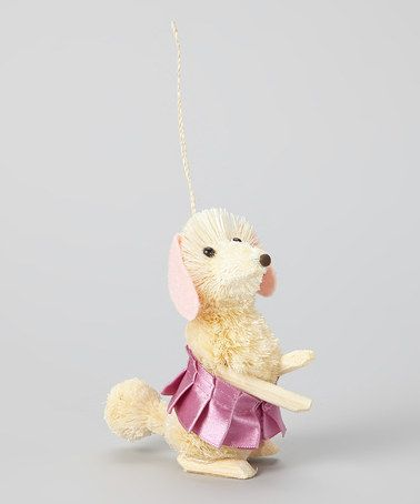 Take a look at this Pink Tutu Dog Ornament by Dennis East International on #zulily today! $8 !!
