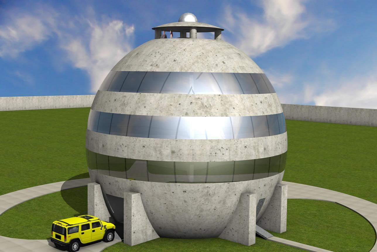 Sphere House Korvelo Anti Weather Intruders